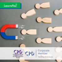 Prospecting and Lead Generation - Online Training Course - CPD Accredited - LearnPac Systems UK -