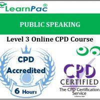 Public Speaking - Online Training & Certification -