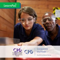 Safety in the Workplace Training - Online Training Course - CPD Accredited - LearnPac Systems UK -