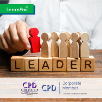 Self-Leadership - Online Training Course - CPD Accredited - LearnPac Systems UK -