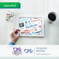Social Media Marketing - Online Training Course - CPD Accredited - LearnPac Systems UK -