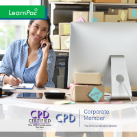 Supply Chain Management - Online Training Course - CPD Accredited - LearnPac Systems UK -
