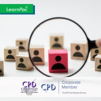 Talent Management - Online Training Course - CPD Accredited - LearnPac Systems UK -