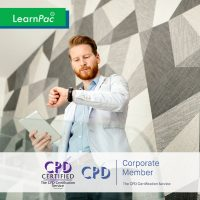 Time Management Training - Online Training Course - CPD Accredited - LearnPac Systems UK -