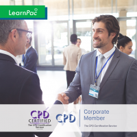 Trade Show Staff - Online Training Course - CPD Accredited - LearnPac Systems UK -