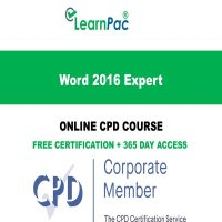 Word 2016 Expert - LearnPac Online Training Courses UK –