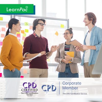 Workplace Diversity - Online Training Course - CPD Accredited - LearnPac Systems UK -