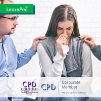 Workplace Violence - Online Training Course - CPD Accredited - LearnPac Systems UK -
