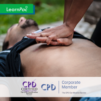 CSTF Resuscitation – Adult Basic Life Support - Online Training Course - CPD Accredited - LearnPac Systems UK -