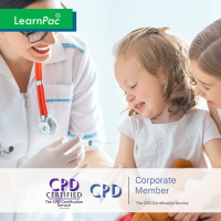 Childhood Immunisation - Online Training Course - CPD Accredited - LearnPac Systems UK -
