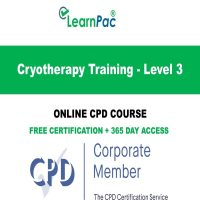 Cryotherapy Training - Level 3 - Online CPD E-Learning Course -