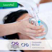 Safe Handling and Administration of Medical Gases - Online Training Course - CPD Accredited - LearnPac Systems UK -