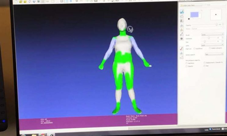 3-D technology might improve body appreciation for young women 1