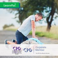 CSTF Resuscitation - Adult Basic Life Support - Online Training Course - CPD Accredited - LearnPac Systems UK -