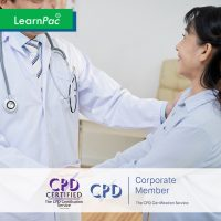 Chaperone Training for Health and Care - Online Training Course - CPD Accredited - LearnPac Systems UK -