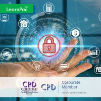 GDPR for Health and Social Care - Online Training Course - CPD Accredited - LearnPac Systems UK -