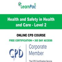 Health and Safety at Work - Level 2 - LearnPac Systems Online Training Courses UK -