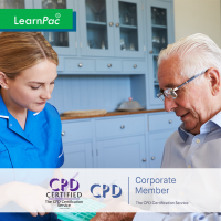 Medication Management for Domiciliary Care - Online Training Course - CPD Accredited - LearnPac Systems UK -