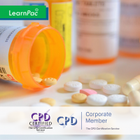 Medicines Management for Nurses & AHPs - Online Training Course - CPD Accredited - LearnPac Systems UK -