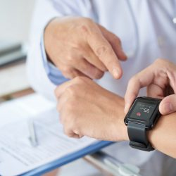 Patients will use health wearables to reduce trips to the doctor-