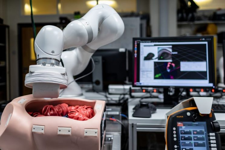 Robotic capsule inspects colon for cancer