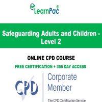 Safeguarding Adults and Children - Level 2 - LearnPac Online Training Courses UK -