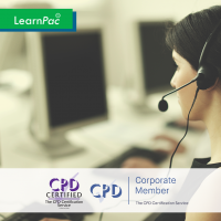 Contact Center - Online Training Course - CPD Accredited - LearnPac Systems UK -