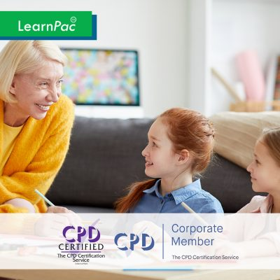 Chaperone and Child Protection Training for Arts and Entertainment - Online Training Course - CPD Accredited - LearnPac Systems UK -