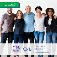 Equality, Diversity and Inclusion - Online Training Course - CPD Accredited - LearnPac Systems UK -