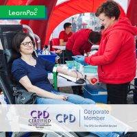 Blood Component Transfusion - Online Training Course - CPD Accredited - LearnPac Systems UK -