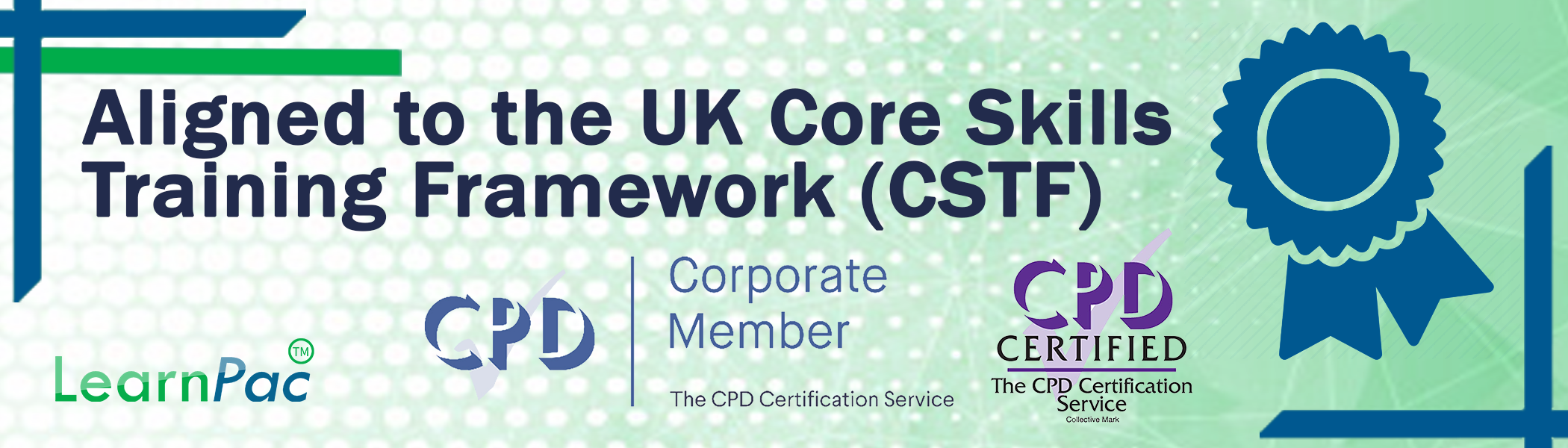 CPD Banner - CPDUK Accredited - Learnpac System UK -