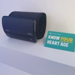 Wearable blood pressure cuff allows users to track hypertension at home -