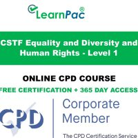 CSTF Equality and Diversity and Human Rights - Level 1 - LearnPac Systems UK -