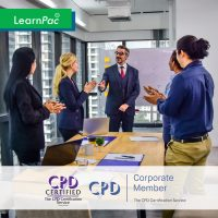 Corporate Training Starter Kit - Online Training Course - CPD Accredited - LearnPac Systems UK -