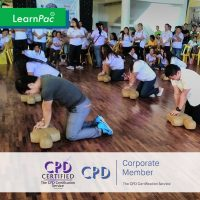Basic Life Support - Online Training Course - CPD Accredited - LearnPac Systems -