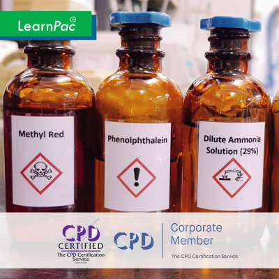 COSHH Awareness - Online Training Course - CPD Accredited - LearnPac Systems -