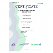Health and Safety- Online Training Course - CPD Certified - LearnPac Systems UK -