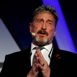 Anti-virus creator John McAfee arrested over tax evasion charges -