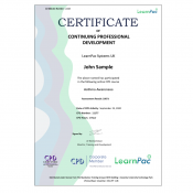 Asthma Awareness - E-Learning Course - CDPUK Accredited - LearnPac Systems -