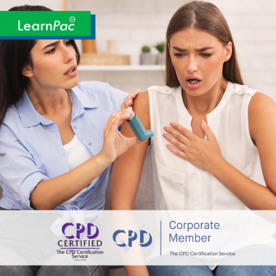 Asthma Awareness - Online Training Course - CPD Accredited - LearnPac Systems -