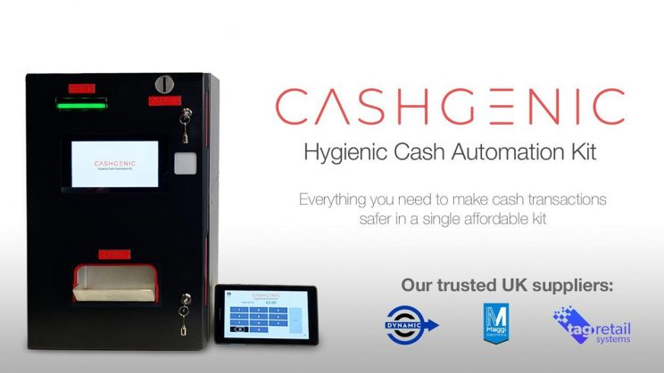 Innovative Tech new UK partners to supply hygienic cash automation kit -