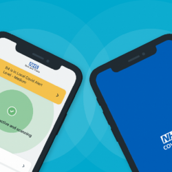 NHS COVID-19 app updates across England and Wales -