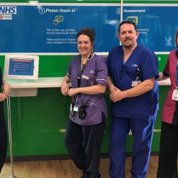 New technology helps speed up triage process at hospitals in West Sussex -