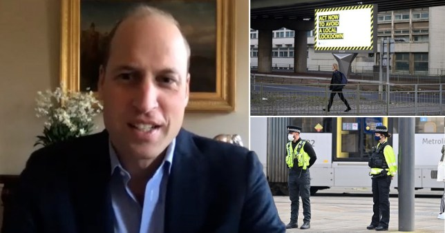 Prince William warns of mental health catastrophe from new lockdown -