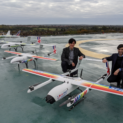 SpaceSpace Agency takes to the skies alongside the NHS 2 - company takes to the skies alongside the NHS 2 -