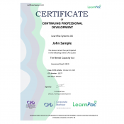 The Mental Capacity Act - eLearning Course - CPD Certified - LearnPac Systems UK -