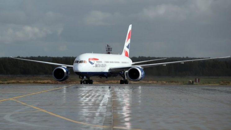 British Airways to launch Covid testing trial for arrivals -