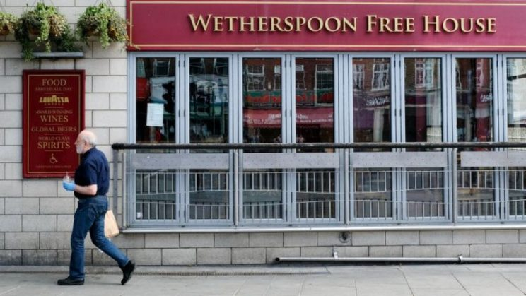 Coronavirus: Wetherspoons calls rules 'baffling and confusing' -