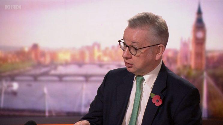 Covid-19: English lockdown may last beyond 2 December, says Gove -