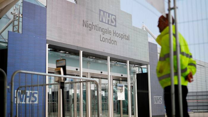 Doubts over use of UK's Nightingale hospitals for vaccine rollout -